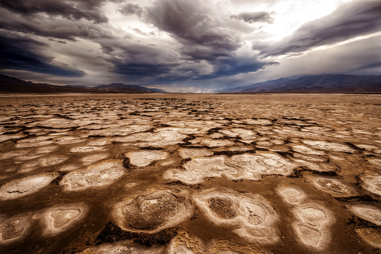 Cottonball Basin, Death Valley, CA, USA