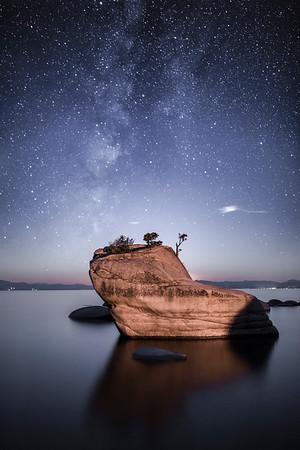 East Shore Milky Way, Lake Tahoe, Nevada