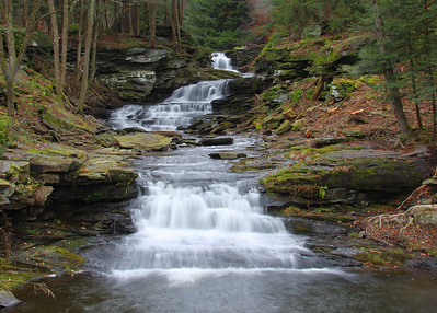 Sonoma Falls in Morsston NY. Located at the site of a new cider mill.