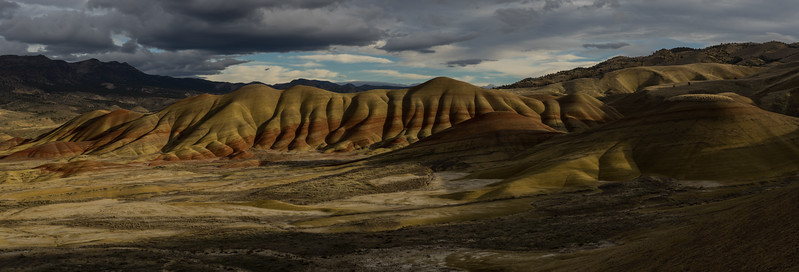 Golden Painted Hills