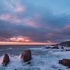 Fading Sun - Big Sur Coastline, CA