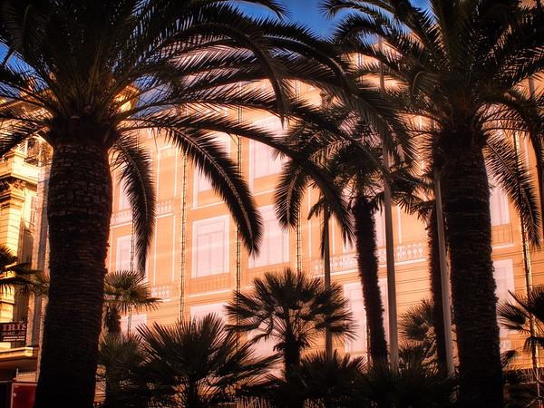 Sunny weather in Monaco