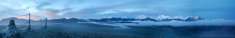 Blue Hour in the Himalaya's