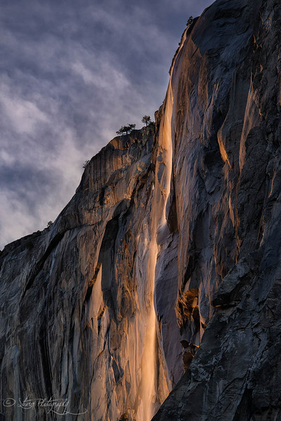 Horstail Fall 2014 - Yosemite NP, CA
