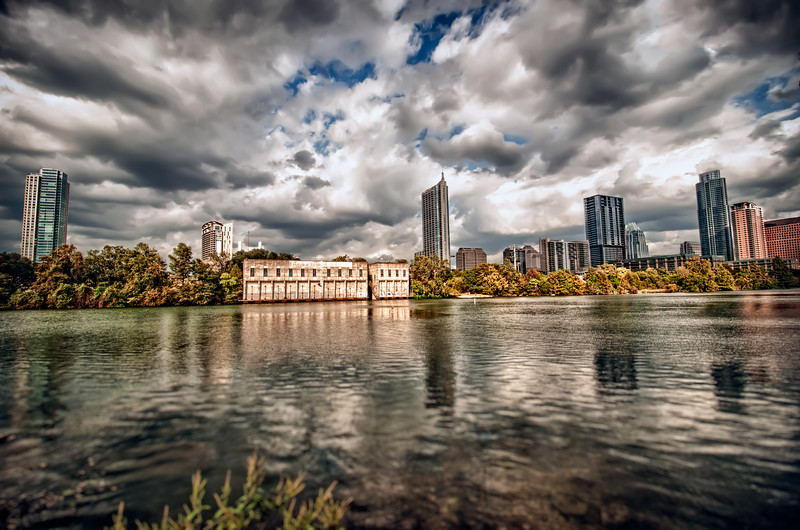 Austin Skyline on Lady Bird Lake