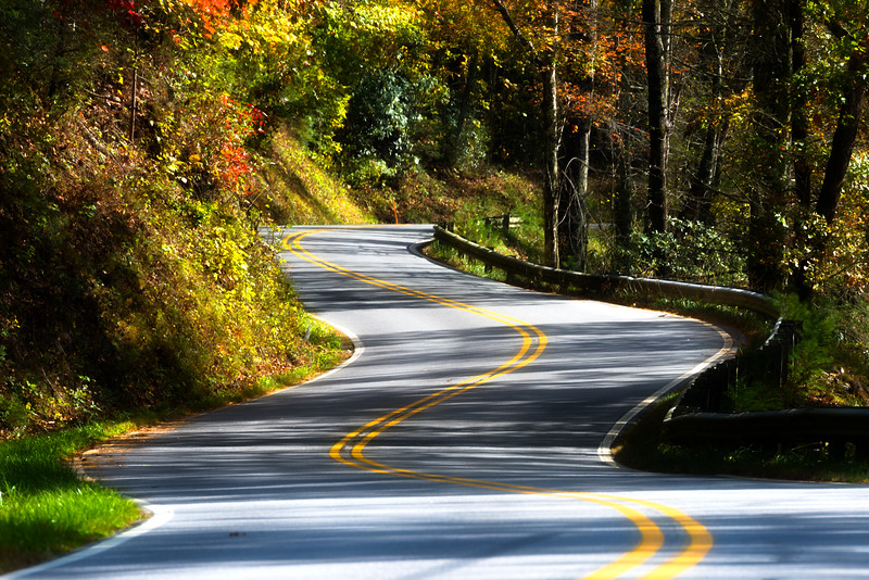 Cherohala Skyway National Scenic Byway, North Carolina USA
