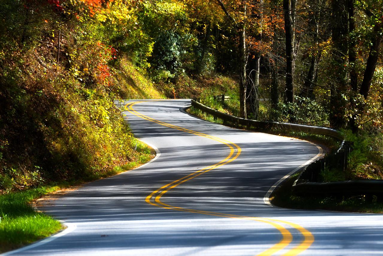 Cherohala Skyway National Scenic Byway, North Carolina USA