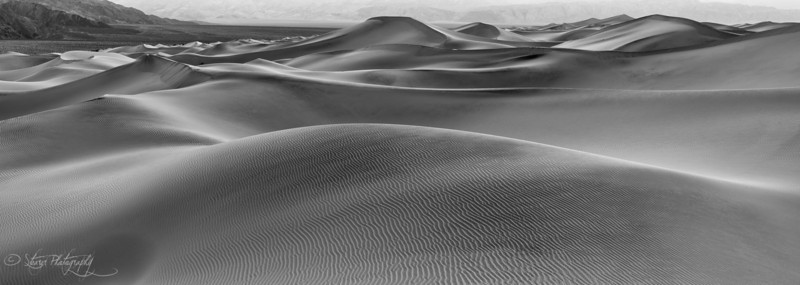 Shapes - Mesquite Sand Dunes, Death Valley, CA