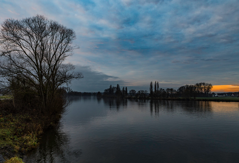 Main River Sunset