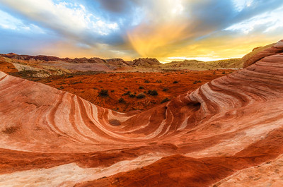 Firewave, Valley of Fire, Nevada, USA