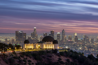 Griffith Observatory - Los Angeles Skyline