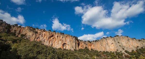 Sunny Cliff at Geyikbayiri, Turkey