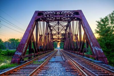 East River Road rail bridge
