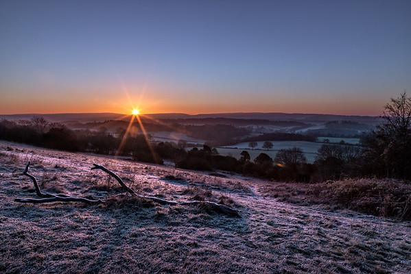 Newlands Corner Sunrise