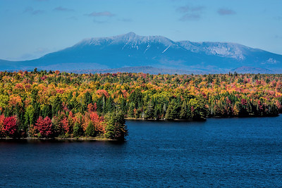 Mount Katahdin fall colors, Baxter State Park