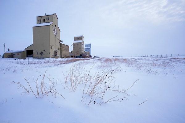 Iconic Prairies - Mossleigh, Alberta
