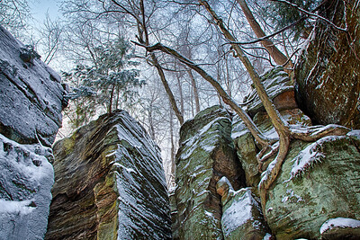 The Ledges Trail @ Liberty Park (2013-01-26)