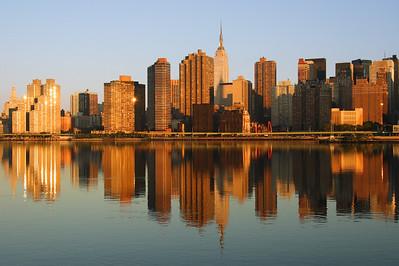 NYC at sunrise.