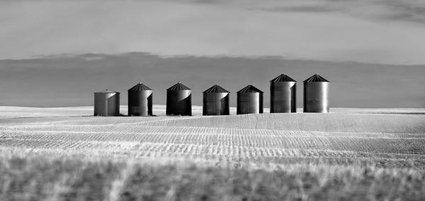 Seven Silos - Mossleigh, Alberta