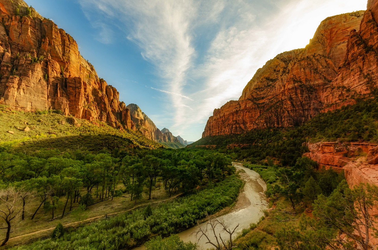 Zion Canyon, Zion National Park, UT
