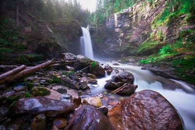 Sutherland Falls - Revelstoke, British Columbia