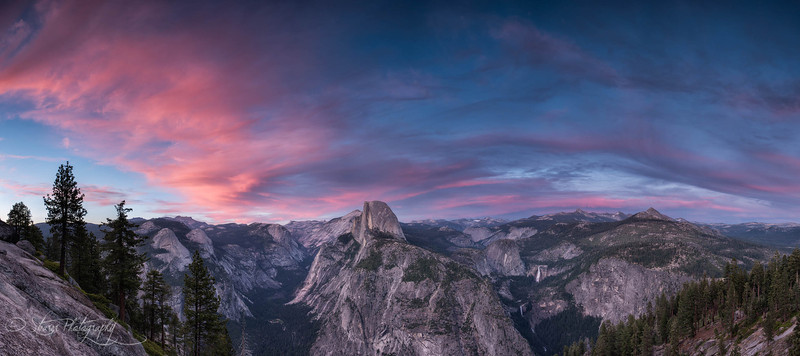 Lueged vo Berge und Tal - Glacier Point, Yosemite NP, CA