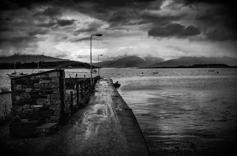 """The End Of The Road"" - shot taken in Oban, Scotland"