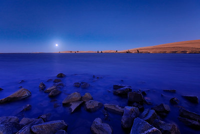 244/365 Blue Moon - © Simpson Brothers Photography  Shot with a Canon 40D, Sigma 10-20mm f/4 lens, blue hour light.