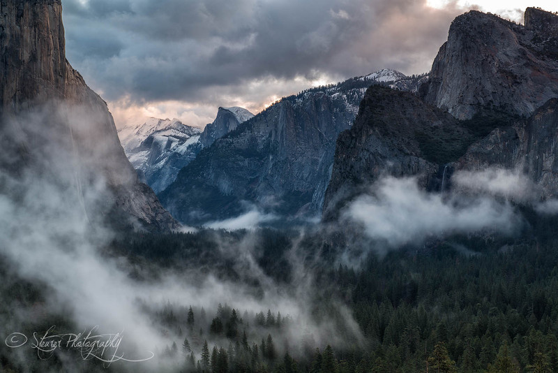 Mist and Clouds - Yosemite NP, CA