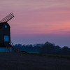 """Pitstone Windmill"" in Pitstone Bedfordshire."