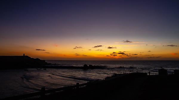 Sundown over Bude