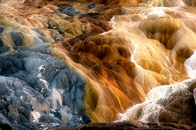 Mammoth Hot Springs, Yellowstone National Park, Wyoming