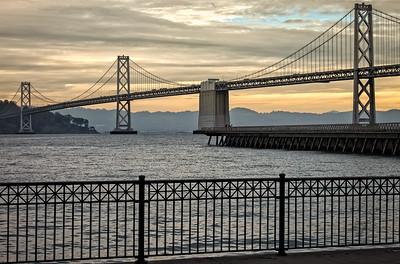 Oakland Bridge, San Francisco, USA