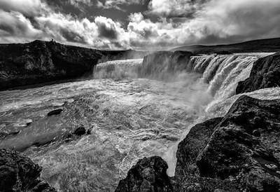 Iceland Goðafoss Waterfalls