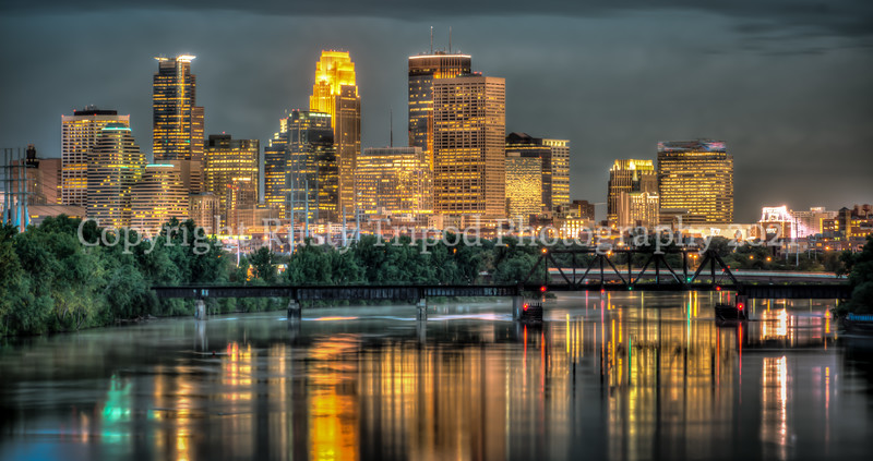 Minneapolis In The Evening
