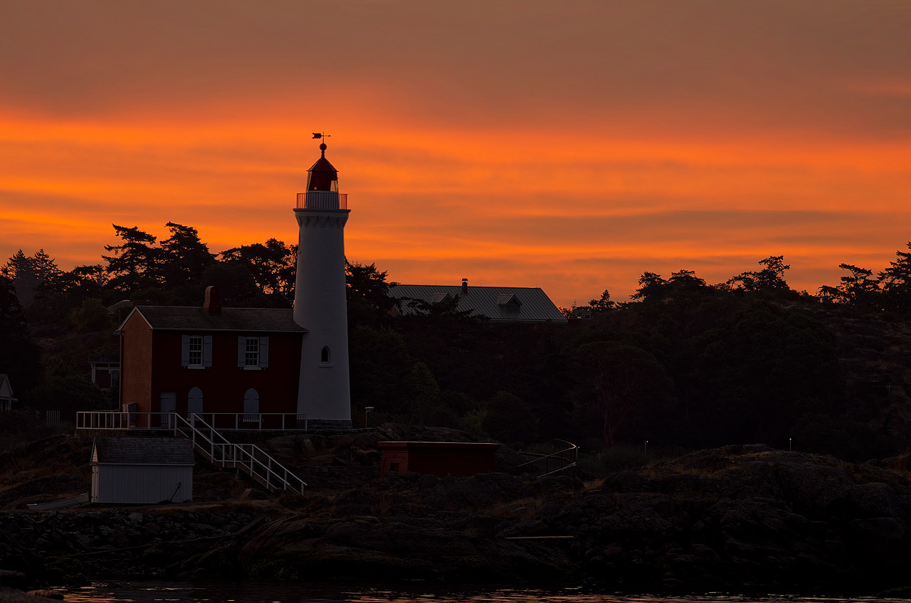 Fisgard Lighthouse, Colwood, British Columbia<br /> Camera: Pentax K5 / Lens: A*300/2.8