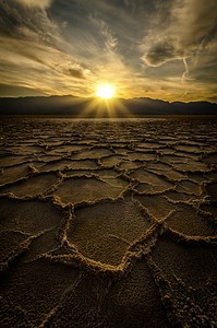 Badwater Basin, Death Valley, CA, USA