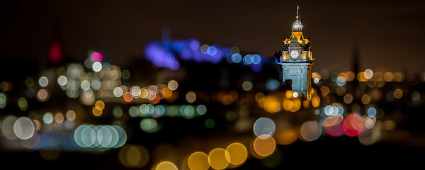 Balmoral Tower Bokeh