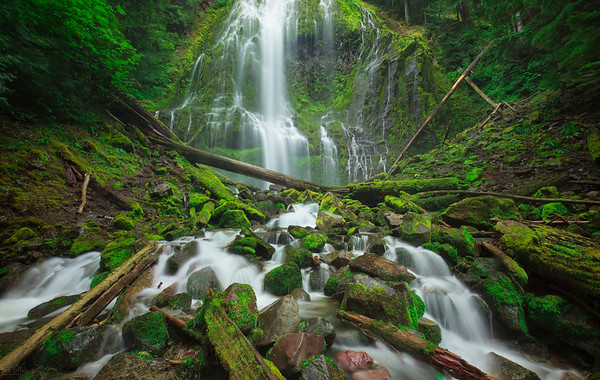 Proxy Falls - McKenzie Pass, Oregon