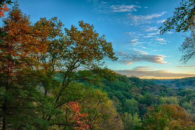 Cleveland Metroparks - Bedford Reservation - Tinkers Creek Gorge Scenic Overlook