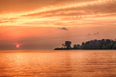 Middle Bass Island Sunset (2013-08-31)