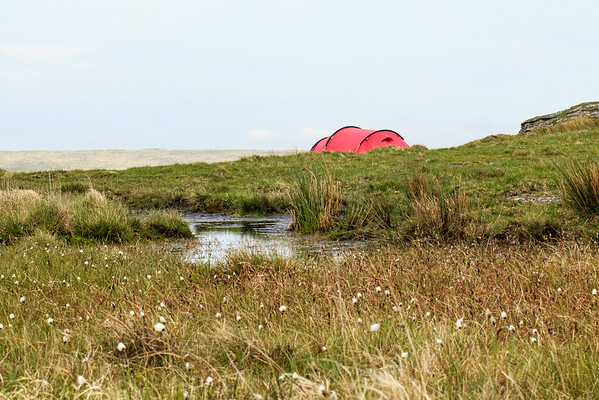 Camping by Devil's Tor