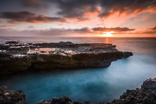 Sunset in Laguna Beach, California