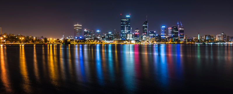Perth, Swan River reflections
