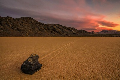 Racetrack Playa, Death Valley, CA, USA