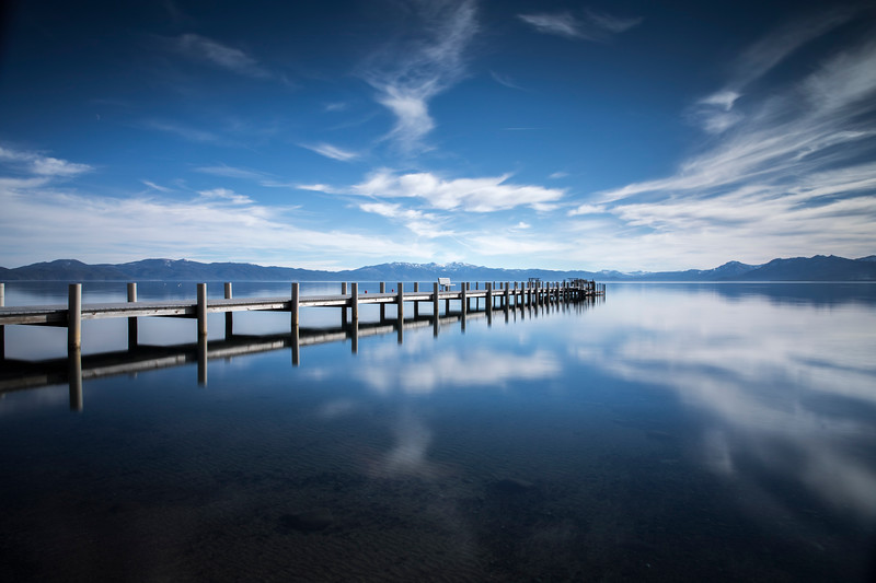 North Tahoe Reflection, Lake Tahoe, California