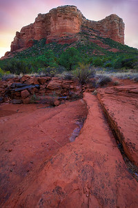 Stairway to the Courthouse - Sedona, Arizona