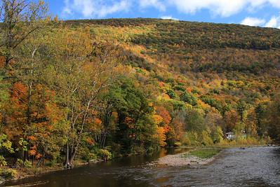 Esopus Creek at Phoenicia, NY.