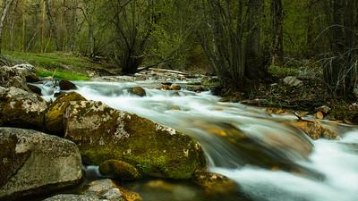 High Creek Spring Run Off