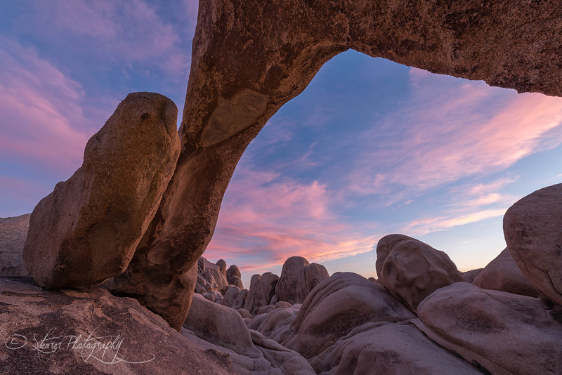 Sunset and the rocks - Joshua Tree NP, CA